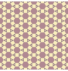 Seamless abstract pattern Texture with triangles vector image vector image