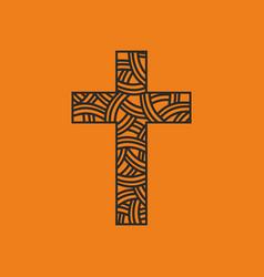 The cross of jesus christ vector