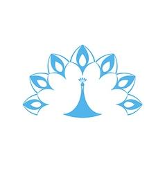 Peacock logo vector