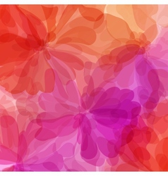 Red background watercolor painting vector