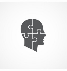 Psychology icon vector
