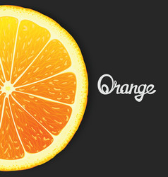 Just orange vector