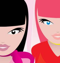 Race queens vector