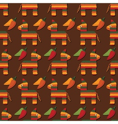 Pinata pattern vector