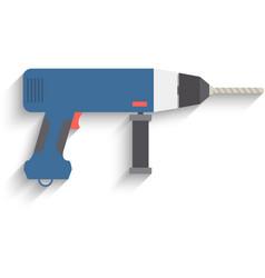 Drill Icon drill icon flat drill icon picture vector image