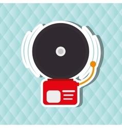 emergency icon design vector image vector image