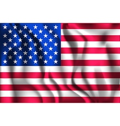 Flag of United States of America Ratio 2 to 3 vector image vector image