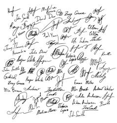 Signature set set of imaginary signature vector