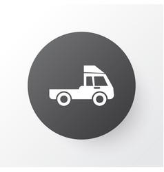 Truck icon symbol premium quality isolated van vector