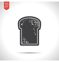 Bread icon eps10 vector