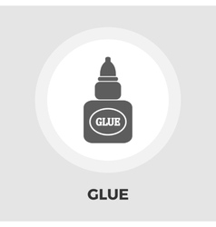 Glue flat icon vector