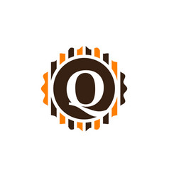Best quality letter q vector