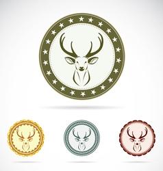 Set of deer label vector
