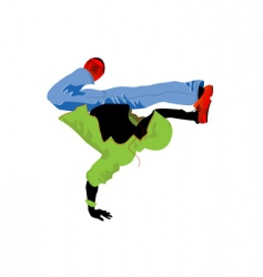 Groove dancer vector