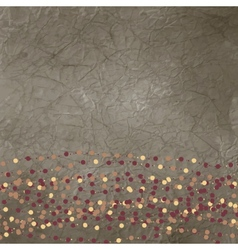 Vintage dots background vector image
