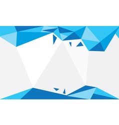 Background triangle bleu vector