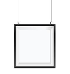 Frame photo art design decorative in colorful vector
