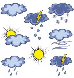 Graffito weather icon vector