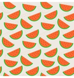 Line color flat seamless background pattern with vector image