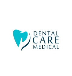 Logo dental care clinic dentistry for kids Teeth vector image