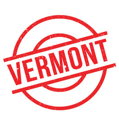 Vermont rubber stamp vector