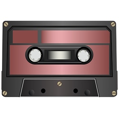 Audio cassette1 vector