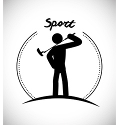 Sport games graphic vector