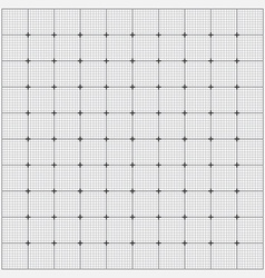 Grid paper vector image vector image