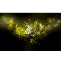 Luxury Background black vector image vector image