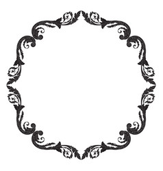 Ornament vintage baroque vector