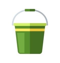 Water bucket vector image