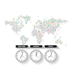 World time vector