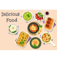 Light meal icon for healthy food design vector