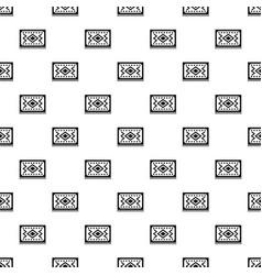 turkish carpet pattern vector image