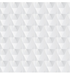 Crumpled paper with geometric seamless pattern vector