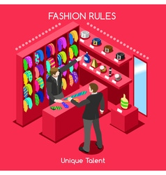 Fashion moods 03 people isometric vector