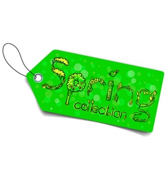 Spring collection vector image vector image