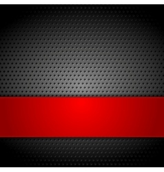 Abstract metal perforated background vector