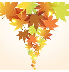 abstract fall background vector image