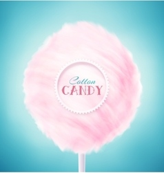 Cotton candy vector