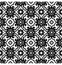 geometric art deco pattern vector image
