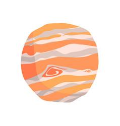 Jupiter planet cartoon vector