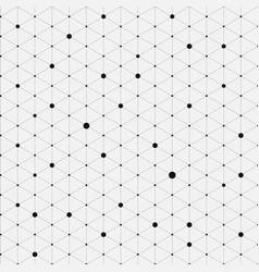 modern stylish isometric pattern texture vector image vector image