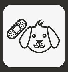 Pet icon vector