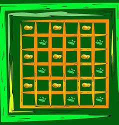 potato texture vector image vector image