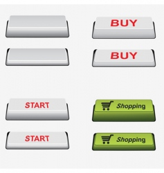 set button vector image
