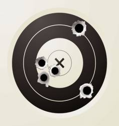 target bullet vector image vector image