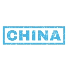 China rubber stamp vector