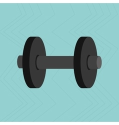 Fitness equipment design vector
