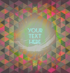 Abstract dark red and green design with your text vector image